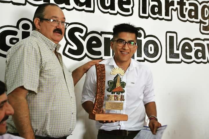 Sergio Leavy y Diego Cruz